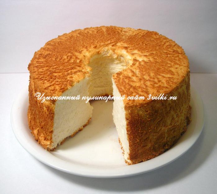как приготовить простой бисквит